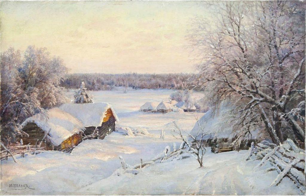 Вельц. Зимний пейзаж