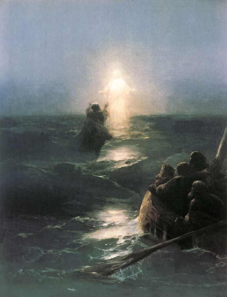 Хождение по водам. Айвазовский