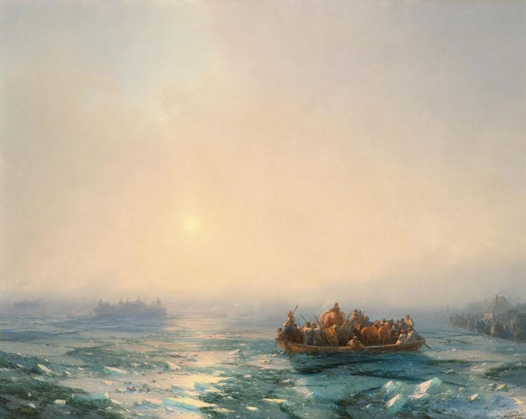 Айвазовский. Лед на Днепре