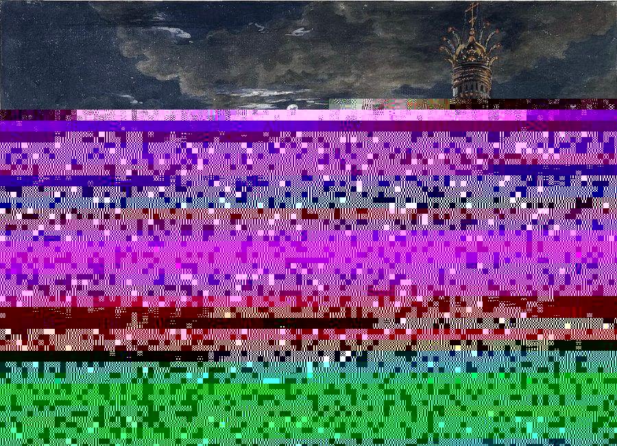 Иллюминация на Соборной площади в честь коронации императора Александра I Алексеев Ф.Я.