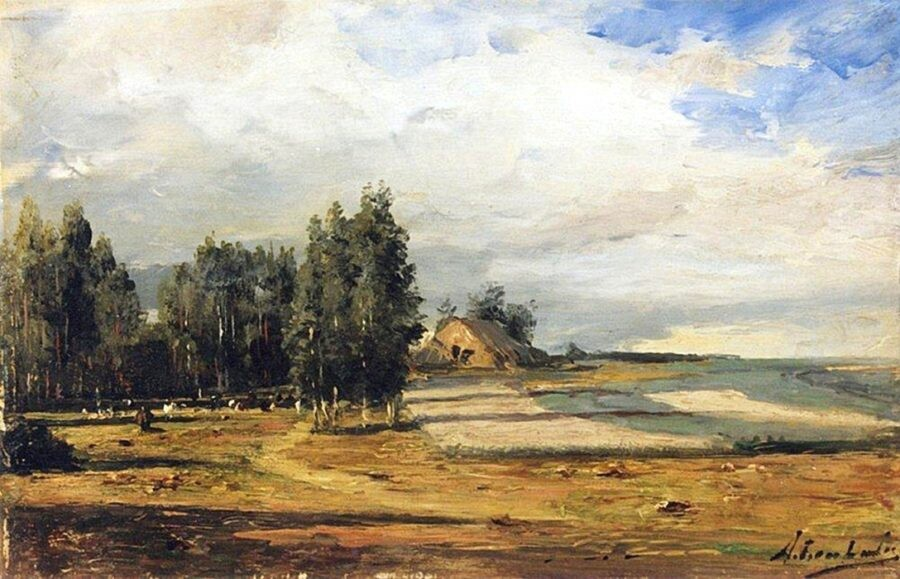 Имение Боголюбова (1877г). Боголюбов А.П.