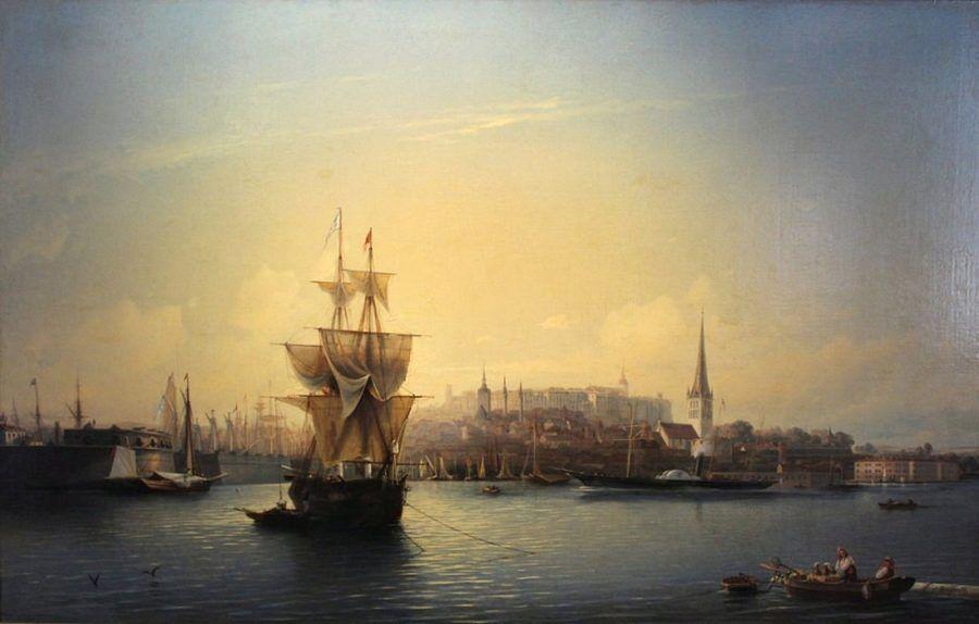 Порт в Таллине Боголюбов А.П.