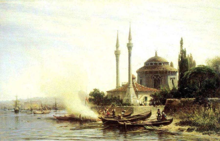 Золотой рог в Константинополе Боголюбов А.П.