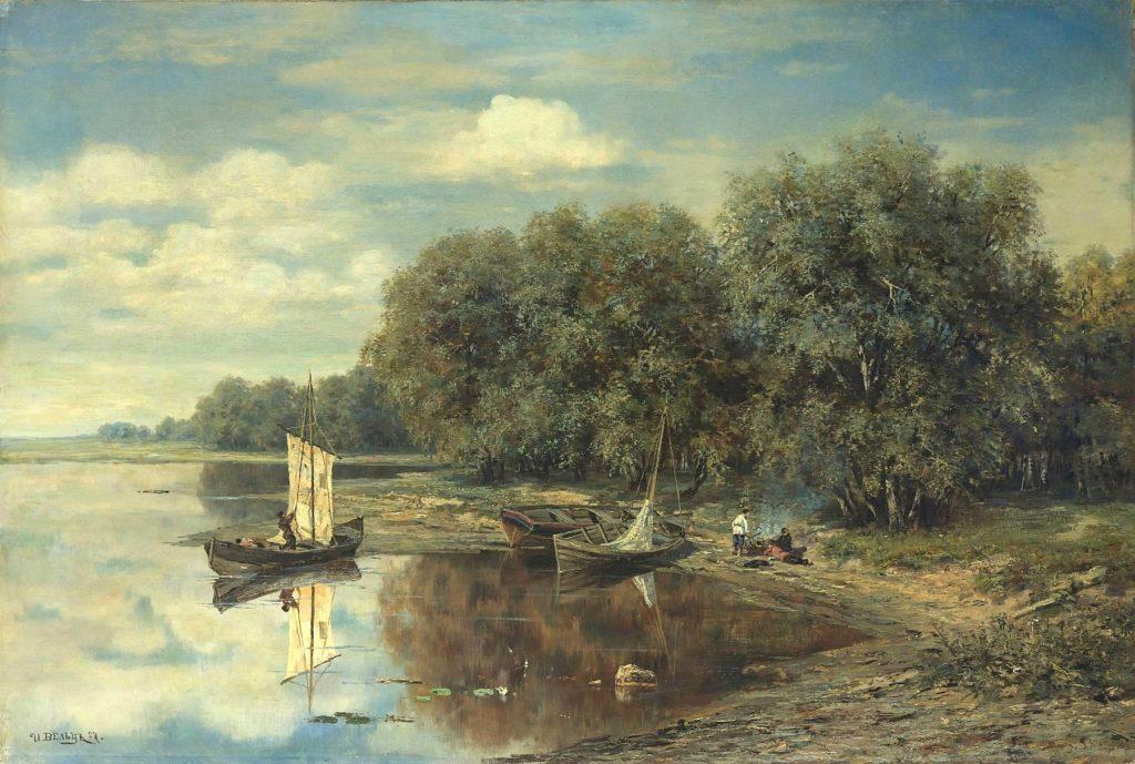 Вельц. Рыбацкие лодки