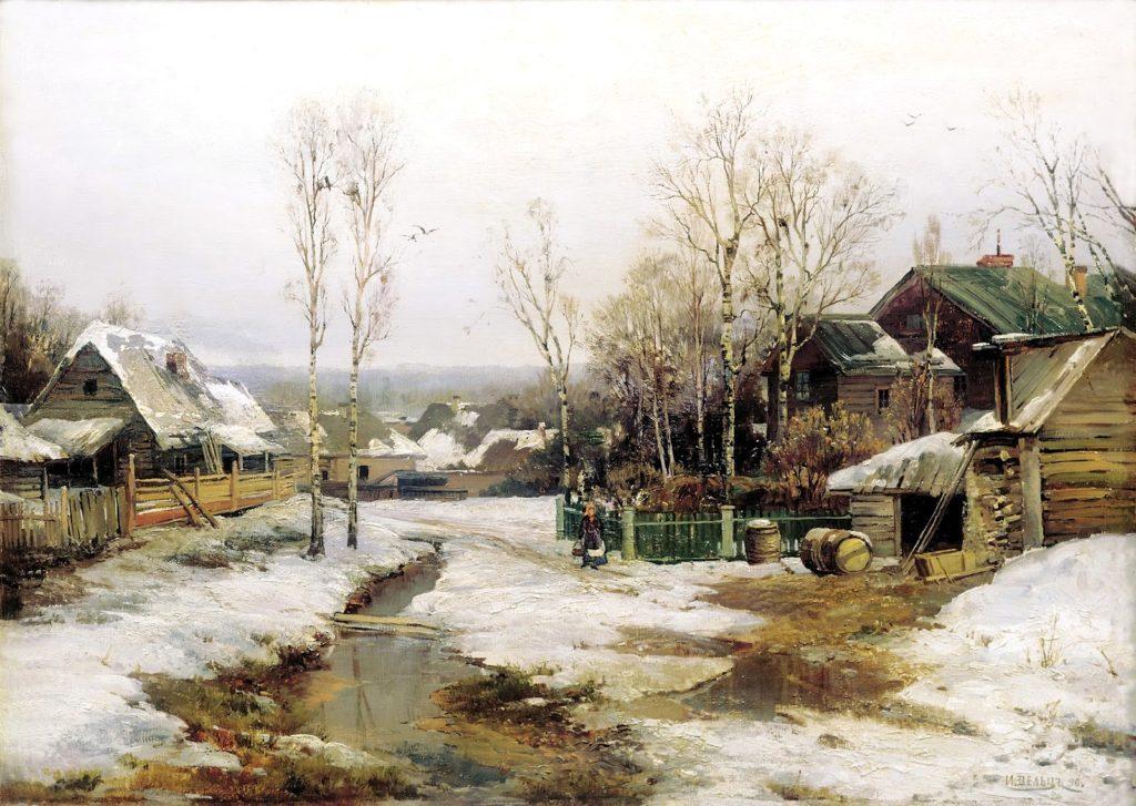 Иван Вельц Весной в окрестностях Петербурга