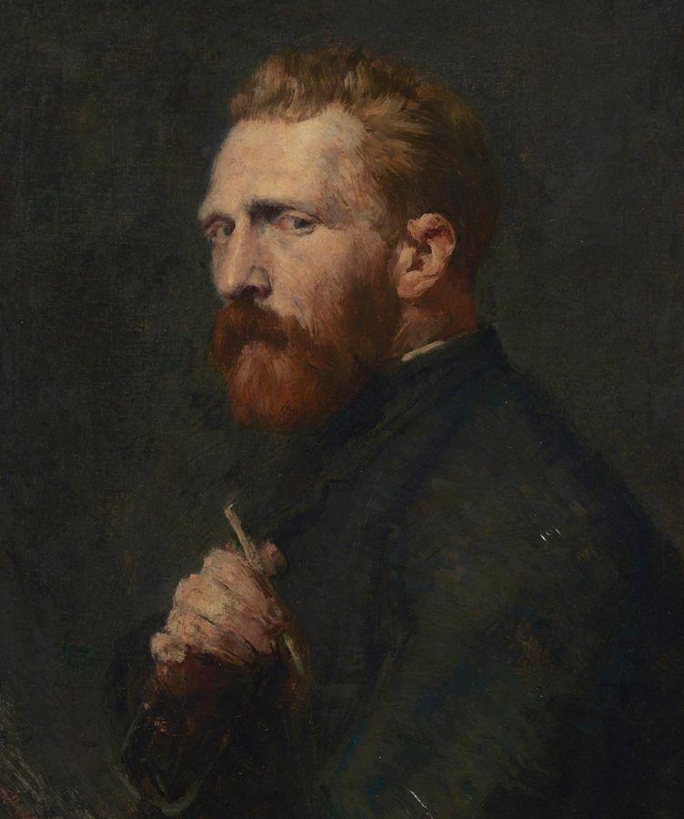Автопортрет. Ван Гог