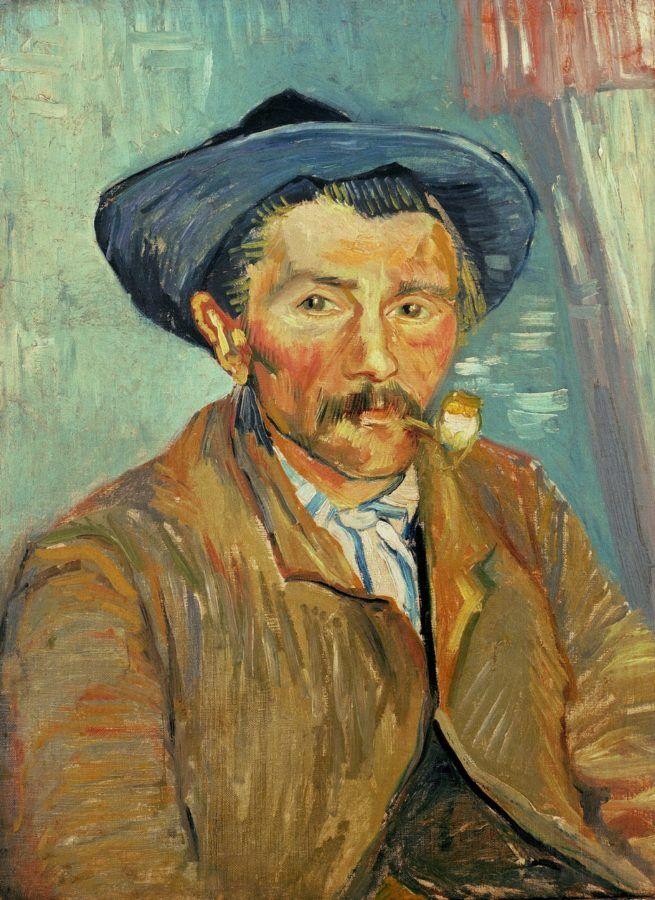 Курильщик. Ван Гог