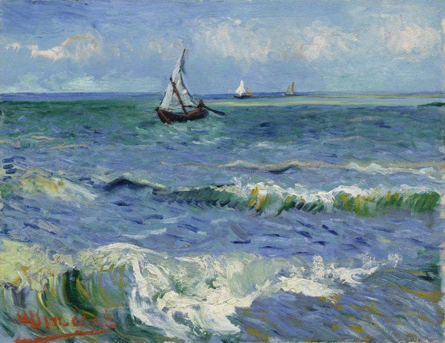 Картина Морской пейзаж в Сент-Мари