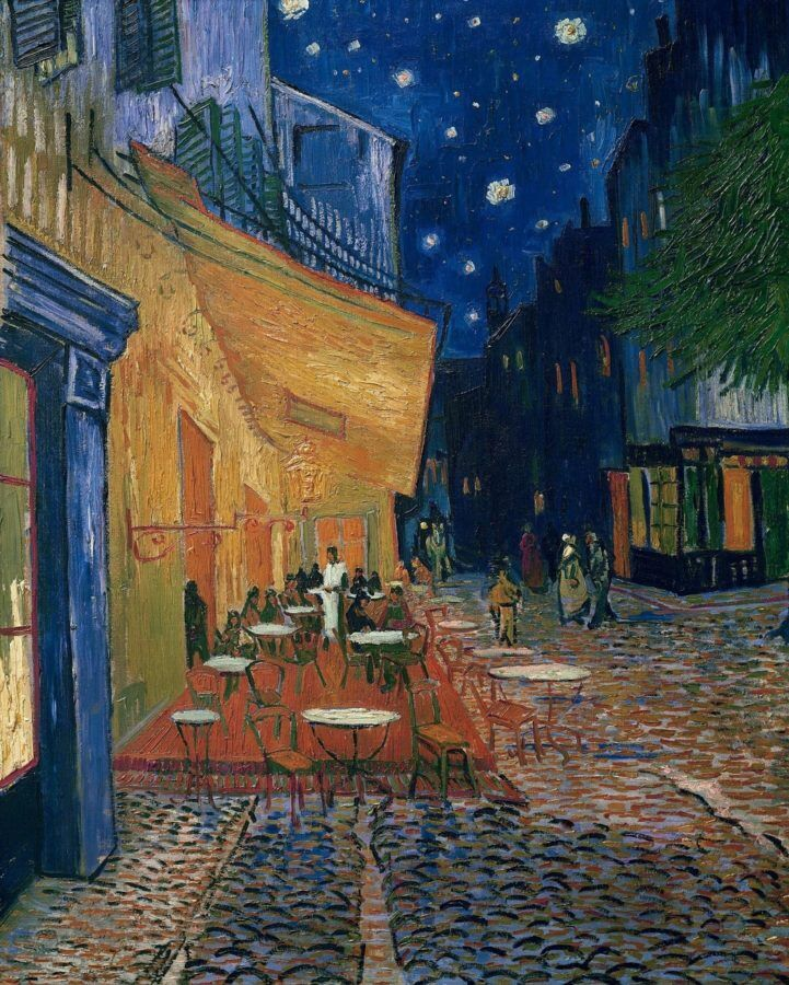 Картина Ночное кафе в Арле