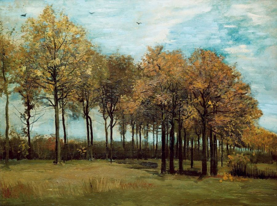Осенний пейзаж. Ван Гог
