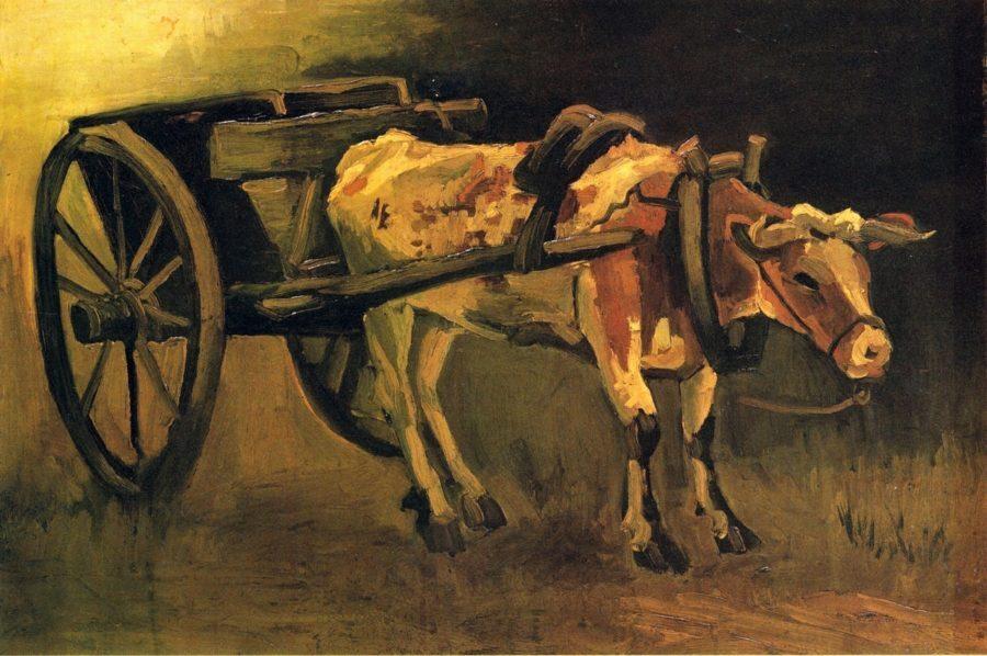 Ван Гог. Телега с быком
