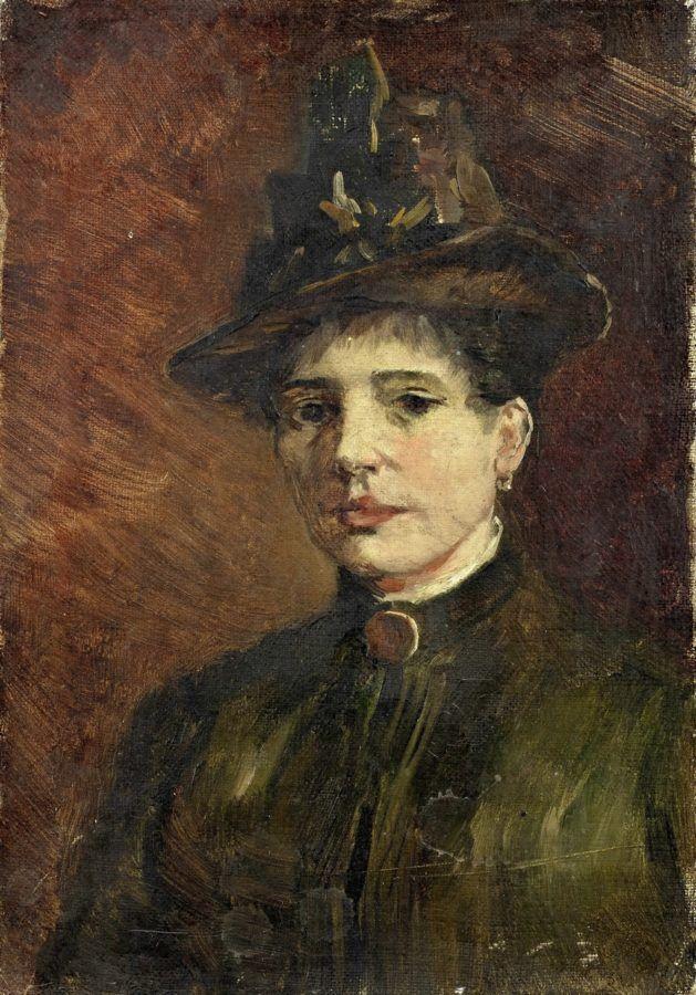 Винсент Ван Гог. Женский портрет