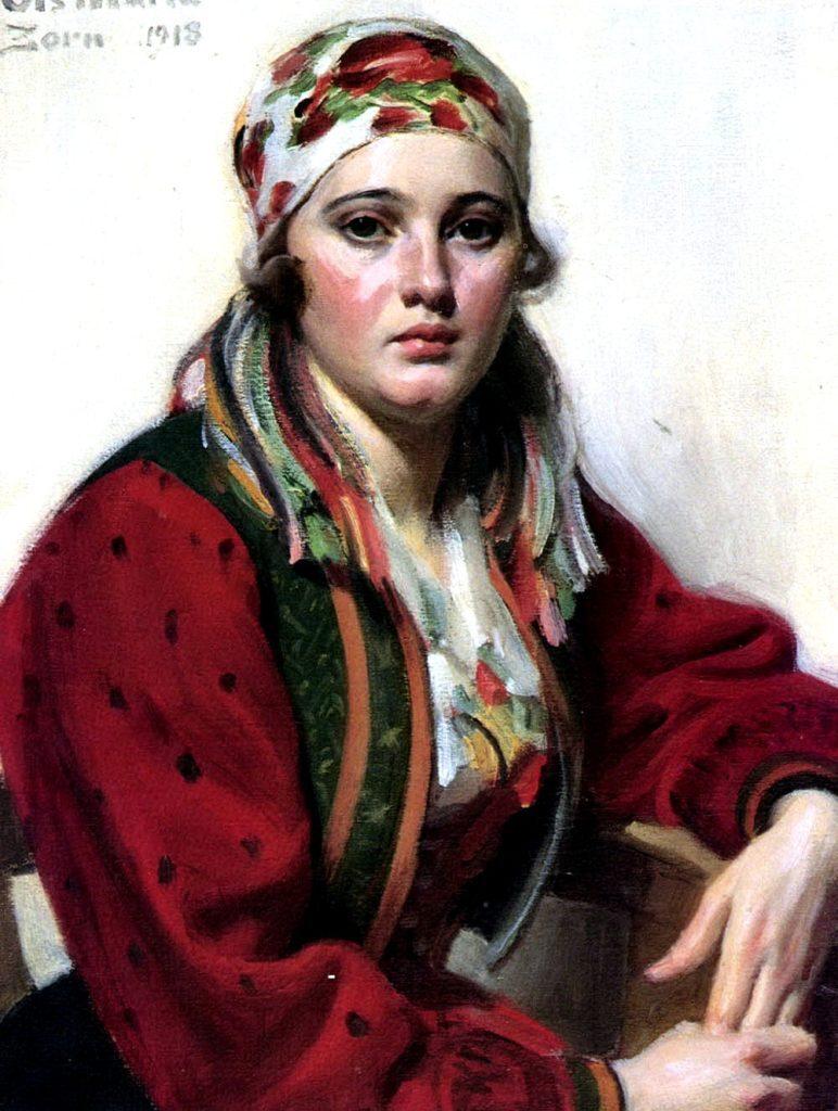 Андерс Цорн. Мария Ольс
