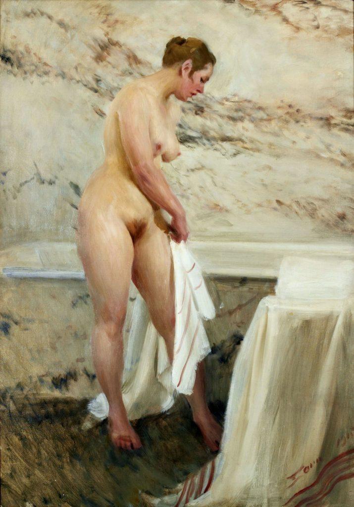 Андерс Цорн - В ванной комнате