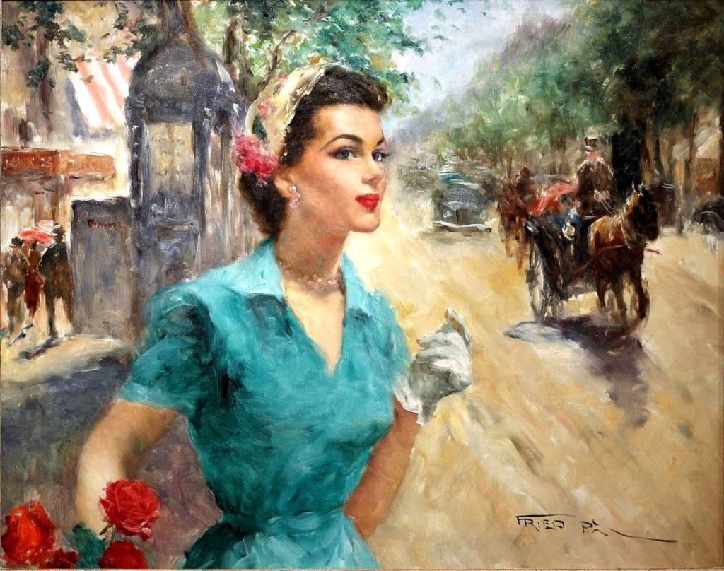 Анабелла, молодая парижанка