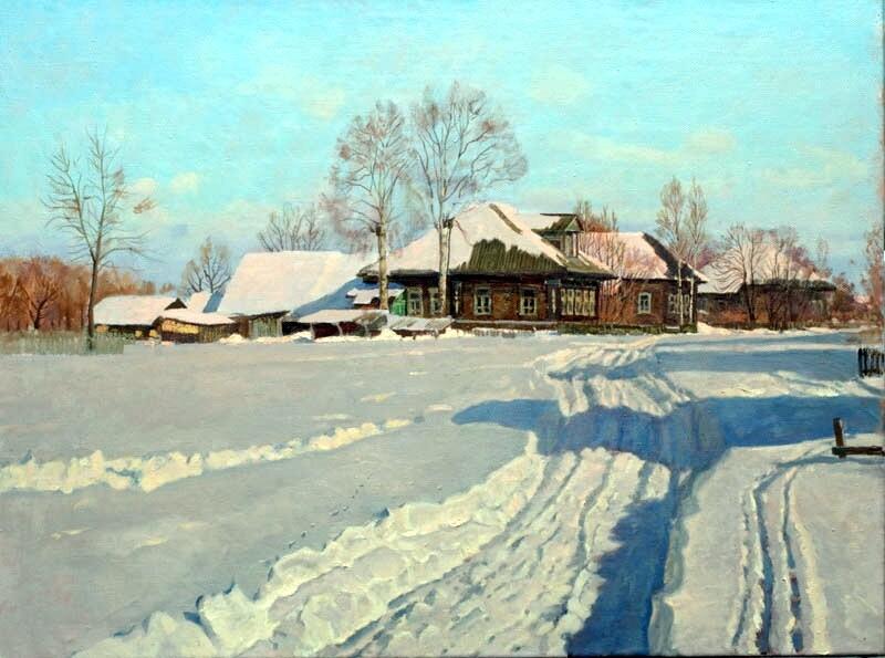 Анохин Николай. Деревня
