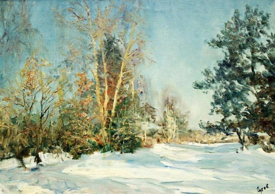В.С. Гусев. Снежная зима