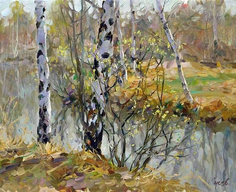 Весна на реке. Гусев В.С.