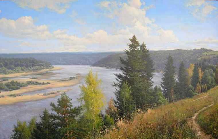 Игорь Прищепа. Течет река