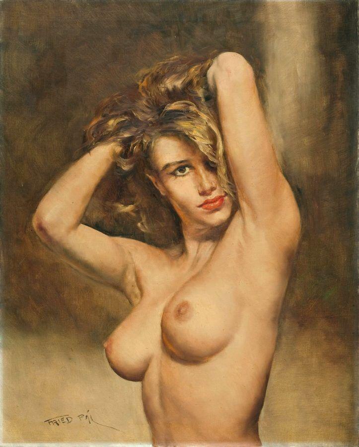Рисунки голых женщин от художников русских