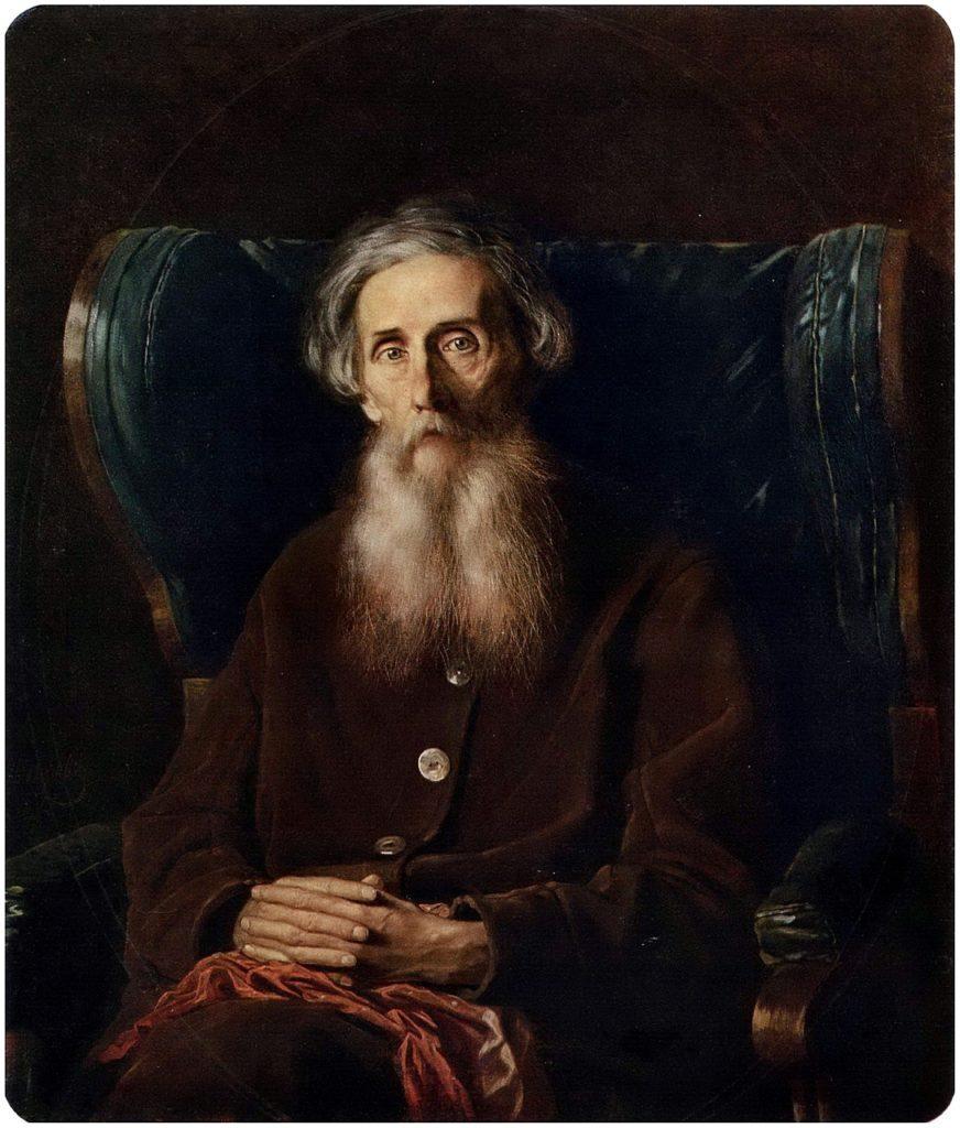 Портрет писателя Владимира Ивановича Даля. Поленов В.Г.
