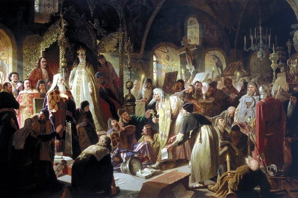 Поленов. Спор о вере