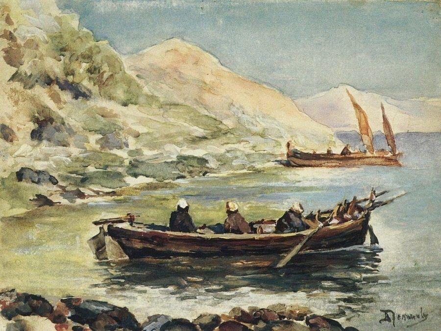 Поленов Василий Дмитриевич. Иоанн и Иаков