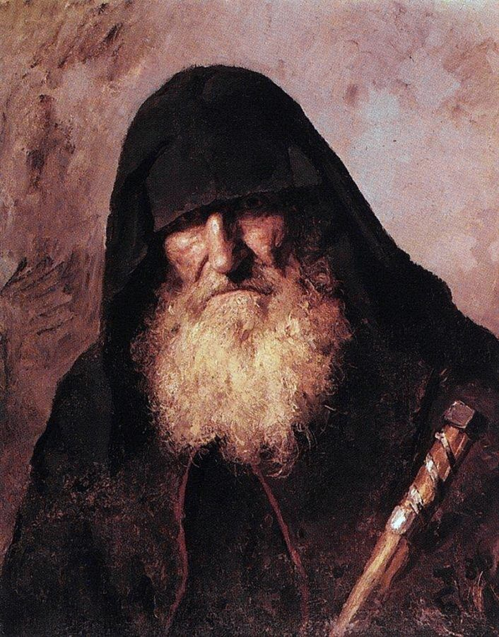 Поленов. Палестинский монах