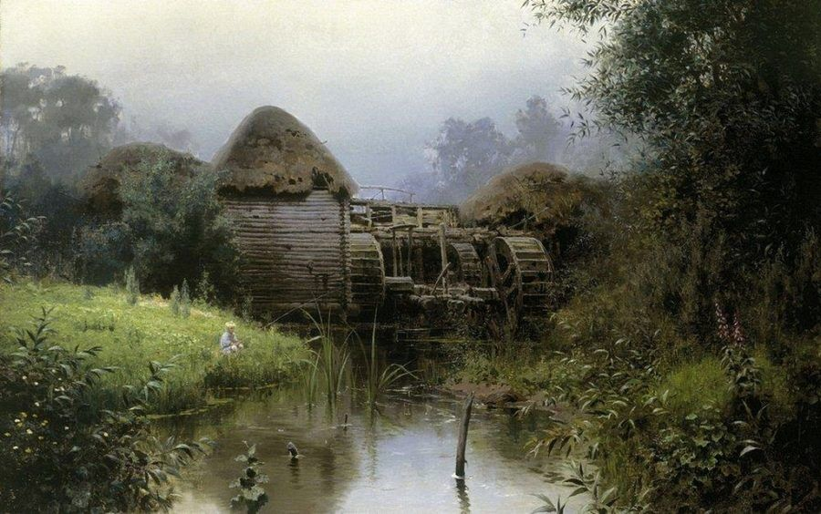 Поленов В.Д. Старая мельница