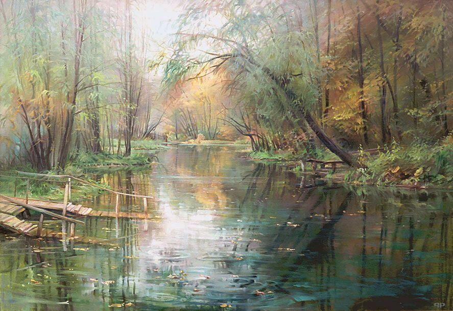 Р.Романов. Озеро Голубое