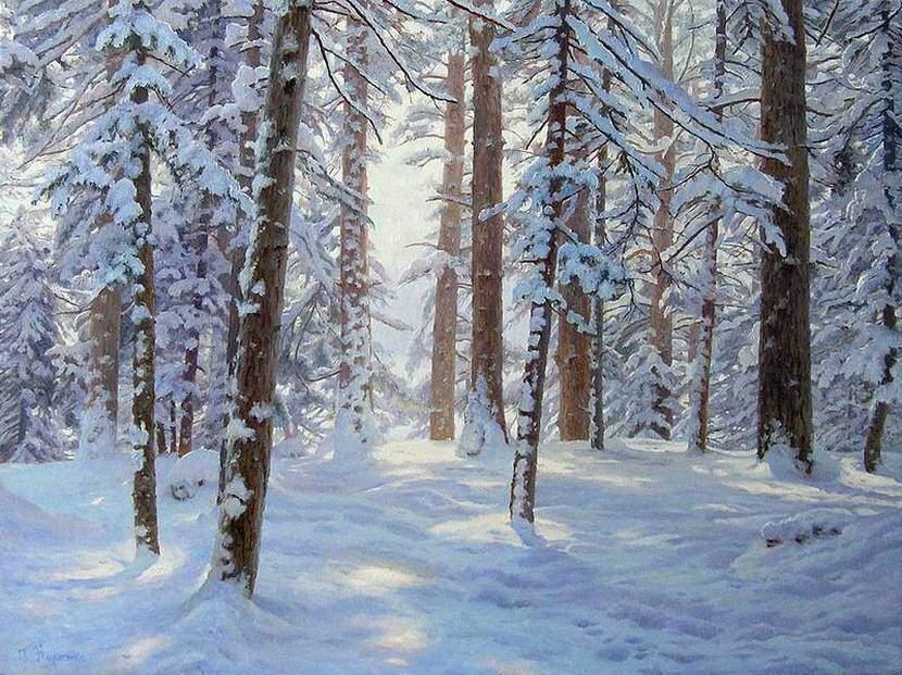 Г.Кириченко. Зима