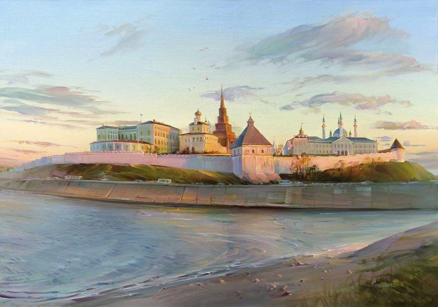 Р.Романов. Казанский кремль
