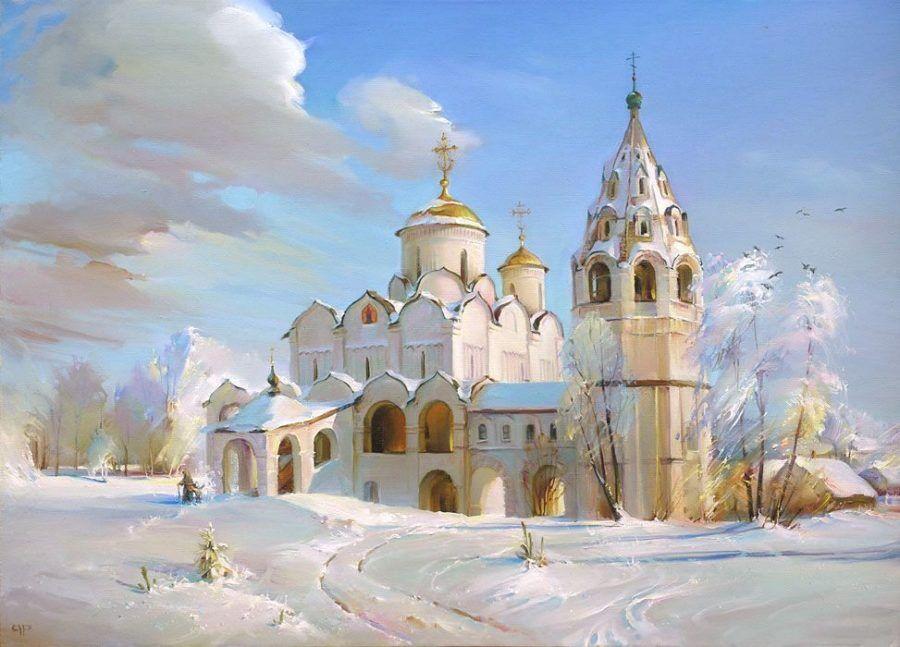 Р.Романов. Суздаль. Поковский собор