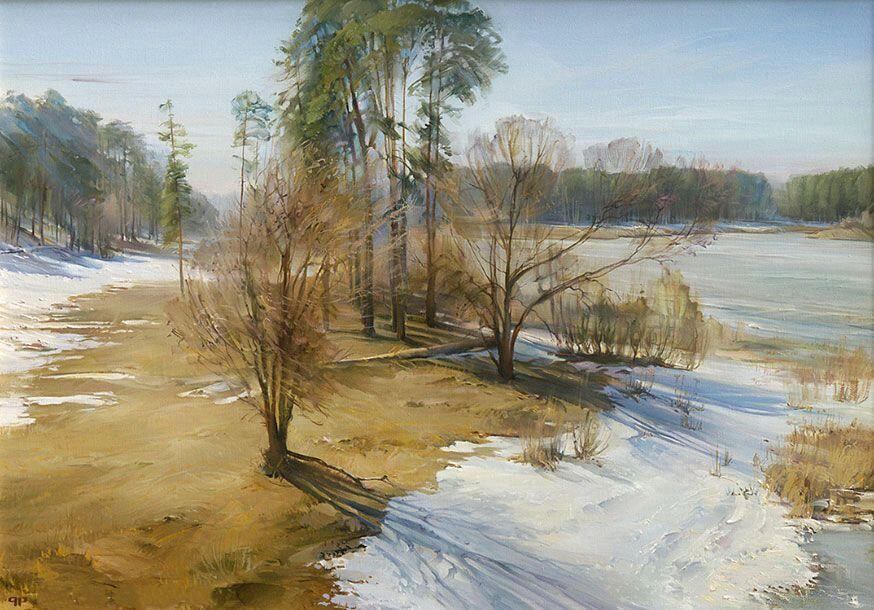 Р.Романов. Весна