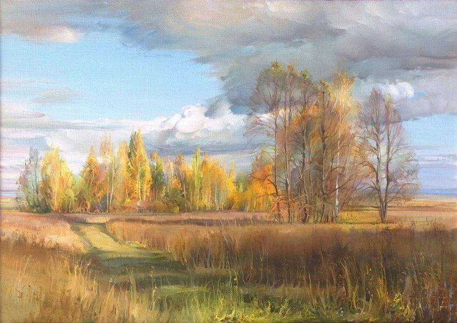 Р.Романов. Осень золотая