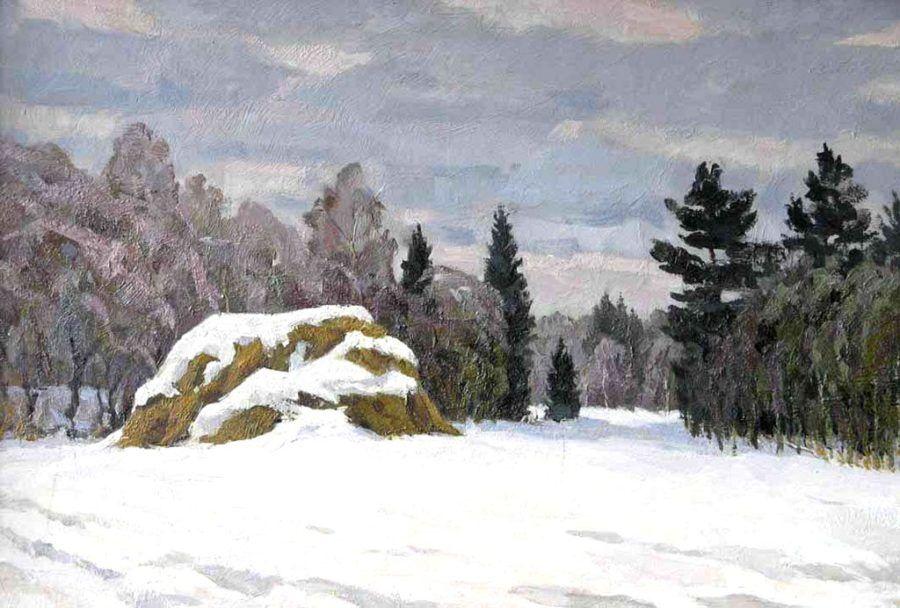Р.Батыршин. Зимний пейзаж