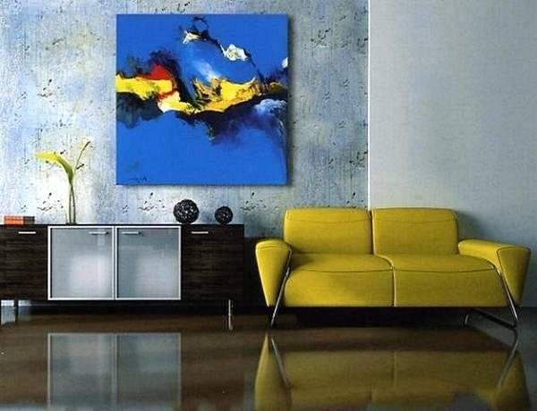 Постер в абстрактном стиле