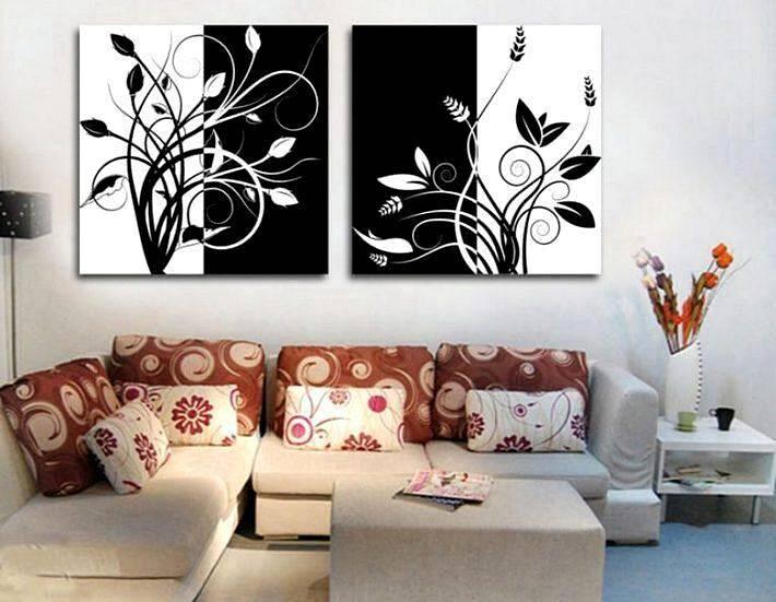 Черно-белые постеры для современного интерьера
