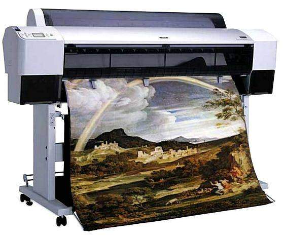 Печать картин на плоттере