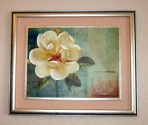 Постер с розой
