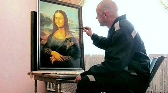 Рукописная репродукция картины