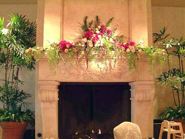 Цветы в интерьере комнаты