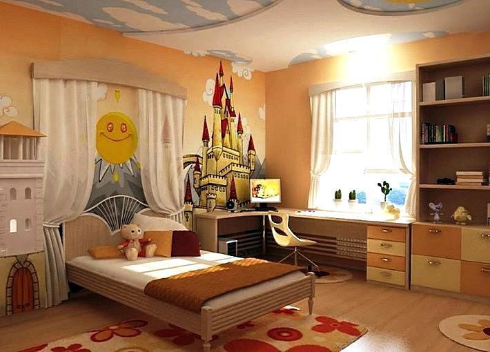 Идеи для интерьера детской комнаты – свежий взгляд