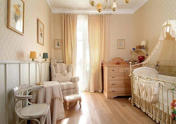 Детская комната для маленького ребенка