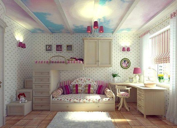 Комната для двоих девочек