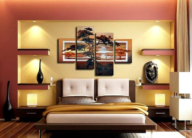Соответствие картины цветовой гамме комнаты