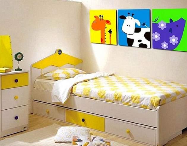 Картины для интерьера детской комнаты