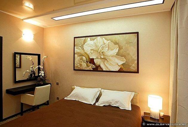 Картины в интерьере комнаты
