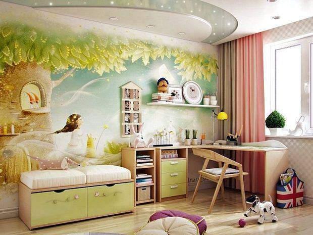 Комната для ребенка 7-12 лет