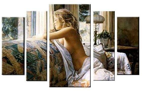 Модульная картина для спальни